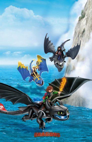 Как приручить дракона - баннер
