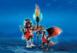 Конструктор Playmobil Экстра-набор: Рыцарь с Драконом