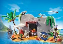 Конструктор Playmobil Супер4: Пещера Пирата