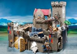 Конструктор Playmobil Рыцари: Королевский замок рыцаря Льва