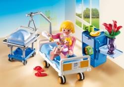 Конструктор Playmobil Детская клиника: Комната матери и ребенка