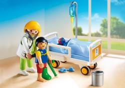 Конструктор Playmobil Детская клиника: Доктор с ребенком