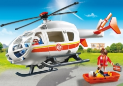 Конструктор Playmobil Детская клиника: Вертолет скорой помощи