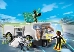 Конструктор Playmobil Супер4: Техно Хамелеон с Джином