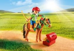 Конструктор Playmobil Ферма Пони: Конюх с Пони Блум