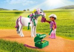 Конструктор Playmobil Ферма Пони: Конюх с Пони Сердечко