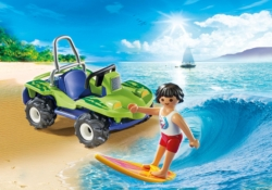 Конструктор Playmobil Круизный Лайнер: Серфер с пляжным квадроциклом