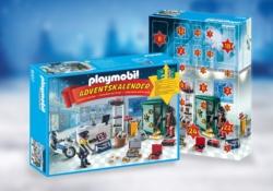 Конструктор Playmobil Набор-календарь: Полицейская операция — украденные украшения