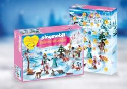 Конструктор Playmobil Набор-календарь: Королевское турне по фигурному катанию