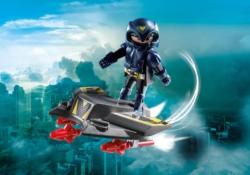 Конструктор Playmobil Экстра-набор: Небесный рыцарь с самолетом