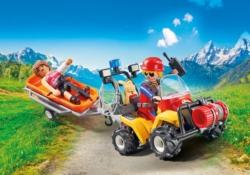 Конструктор Playmobil Горноспасательная: Горноспасательная гвардия