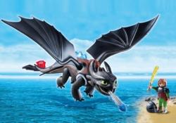 Конструктор Playmobil Драконы: Иккинг и Беззубик