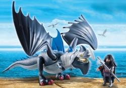 Конструктор Playmobil Драконы: Драго и Громокоготь