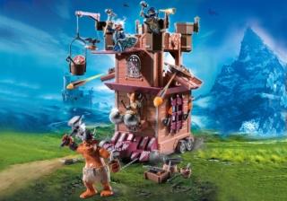 Конструктор Playmobil Гномы: Передвижная крепость гномов