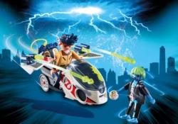 Конструктор Playmobil Охотники за привидениями: Стэнц с небесным велосипедом