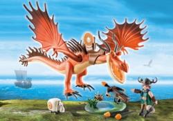 Конструктор Playmobil Драконы: Сморкала и Криволык