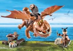 Конструктор Playmobil Драконы: Рыбьеног и Сарделька