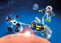 Конструктор Playmobil Космос: Спутниковый Метеороидный Лазер